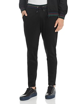 PS Paul Smith - Stripe-Trimmed Jogger Pants