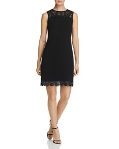 KARL LAGERFELD Paris - Lace-Trim Dress