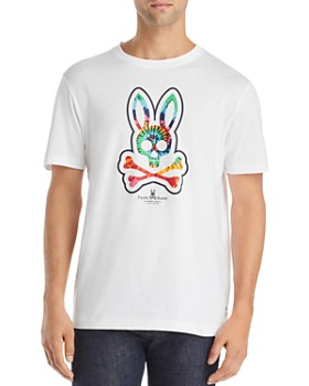 Psycho Bunny - Tie-Dyed Logo Graphic Tee - 100% Exclusive