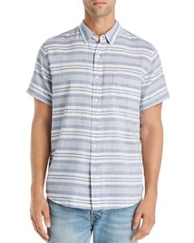 Rails - Carson Short-Sleeve Striped Slim Fit Shirt