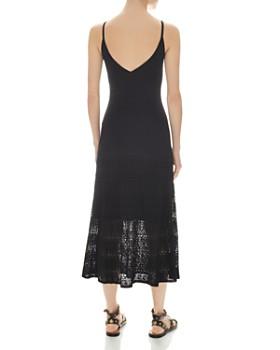 Sandro - Roselyne Sleeveless Pointelle Midi Dress