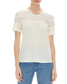 c9f2c526b2a Sandro Women's Tops: Graphic Tees, T-Shirts & More - Bloomingdale's