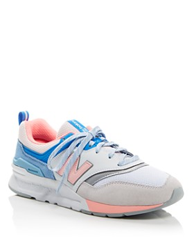 New Balance - Women's 997H Mixed Media Low-Top Sneakers