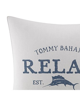 """Tommy Bahama - Raw Coast Relax Square Pillow, 20"""" x 20"""""""