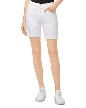 J Brand - Billey Denim Shorts in White