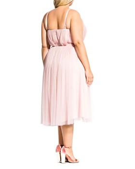 City Chic Plus - Tulle Midi Dress