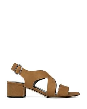 116a07598 ... Via Spiga - Women s Fallen Block Heel Sandals