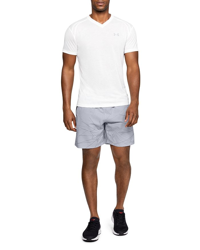 Under Armour - Launch Printed Drawstring Shorts