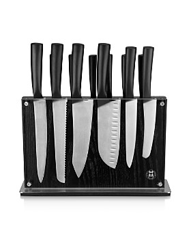 Schmidt Brothers - Cutlery Black Downtown Knife Block