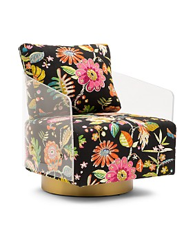 Mitchell Gold Bob Williams - Lucy Swivel Chair - 100% Exclusive