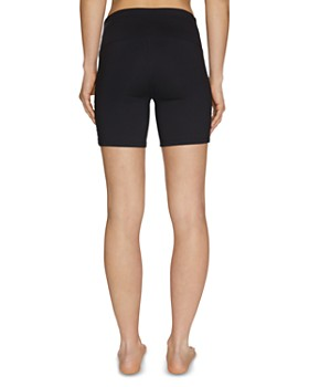 Betsey Johnson - Ladder-Strap Compression Bike Shorts