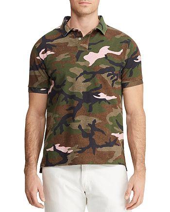 Polo Ralph Lauren - Camouflage-Print Mesh Custom Slim Fit Polo Shirt