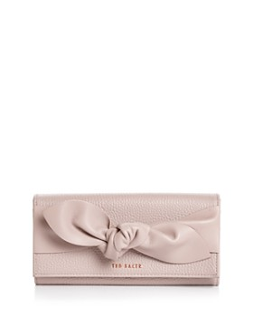 7a3a093fa Ted Baker - Marigo Knotted Flap Leather Matinee Wallet ...