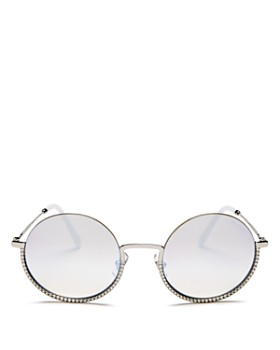 Miu Miu - Women's Round Sunglasses, 52mm