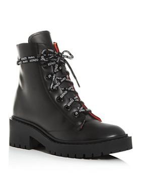 Kenzo - Women's Block-Heel Platform Combat Boots