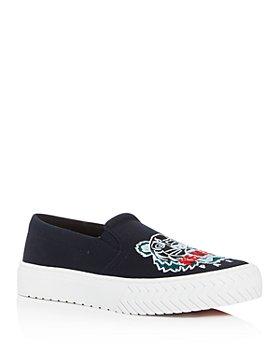Kenzo - Women's K-Skate Embroidered Slip-On Sneakers