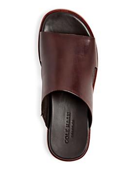 Cole Haan - Men's Goldwyn 2.0 Leather Slide Sandals