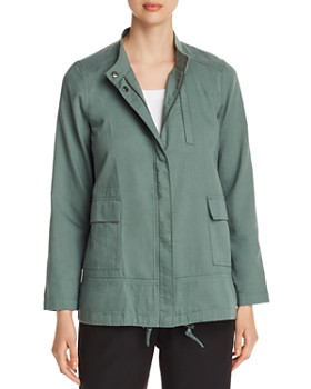 Eileen Fisher - Lightweight Organic Cotton Jacket