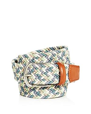 The Men's Store at Bloomingdale's Men's Woven Stretch Belt - 100% Exclusive
