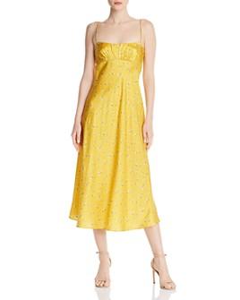 Bec & Bridge - Only in Paris Floral-Silk Dress