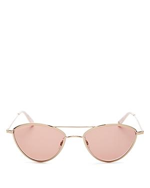 Garrett Leight Women's Breeze Brow Bar Cat Eye Sunglasses, 51mm