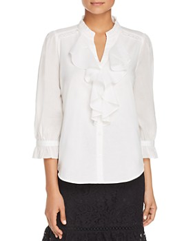 KARL LAGERFELD Paris - Ruffle-Trim Shirt