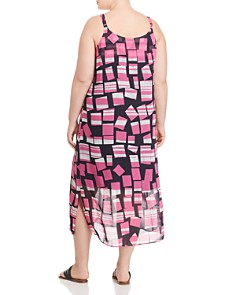 NIC and ZOE Plus - Block Party Printed Dress