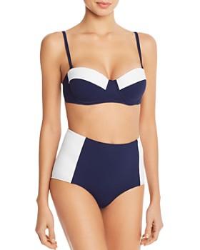 Tory Burch - Lipsi Bikini Top & Lipsi High-Waist Bikini Bottom