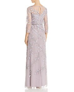 Adrianna Papell - Embellished Illusion Gown
