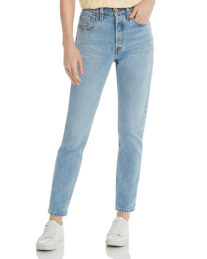 beda1739 Levi's 501 High-Rise Skinny Jeans in Tango Light | Bloomingdale's