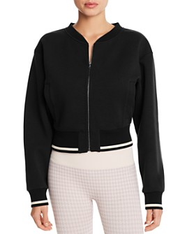 Varley - Cole Cropped Bomber Jacket