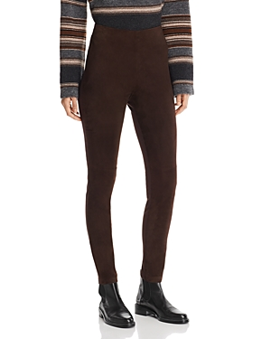 Weekend Max Mara Eros Lamb Leather Pants