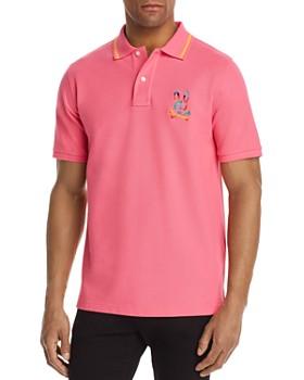 Psycho Bunny - Rainbow-Logo Piqué Classic Fit Polo Shirt - 100% Exclusive