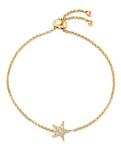 Bloomingdale's - Diamond Star Bolo Bracelet in 14K Yellow Gold, 0.15 ct. t.w. - 100% Exclusive