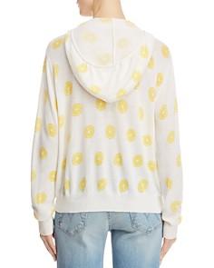 AQUA - Lemon Print Hooded Sweater - 100% Exclusive