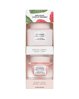 STARSKIN - ORGLAMIC™ Pink Cactus 2-Step Lip Treatment