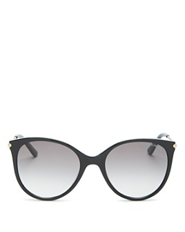 Bottega Veneta - Women's Round Sunglasses, 54mm