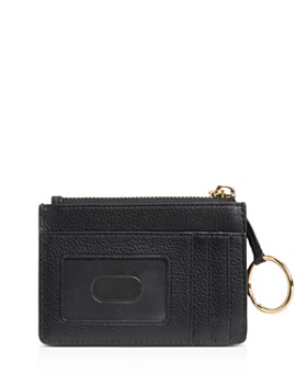 MARC JACOBS - Top Zip Small Leather Wallet