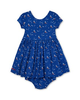 Ralph Lauren - Girls' Sailboat Fit-and-Flare Dress & Bloomers Set - Baby