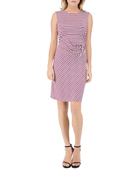 B Collection by Bobeau - Estelle Sleeveless Striped Sheath Dress