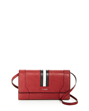 Bally Strafford Leather Convertible Crossbody-Handbags
