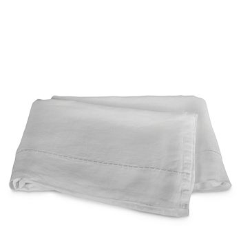 Matouk - Thea Linen Flat Sheet, Full/Queen