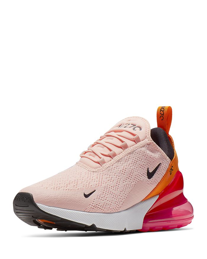 best service 9172c f5424 Nike Women s Air Max 270 Low-Top Sneakers In Washed Coral Black Laser