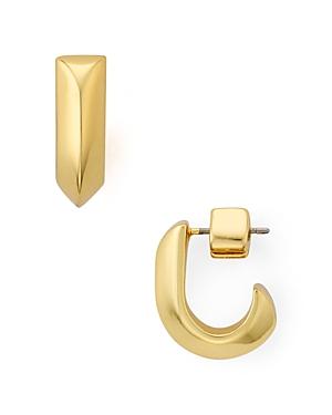 kate spade new york Raise the Bar Huggie Hoop Earrings