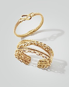 JOHN HARDY - 18K Yellow Gold Classic Chain Small Link Bracelet