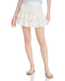 Generation Love - Audrina Star-Print Mini Skirt