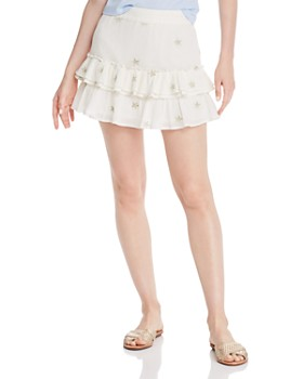 Generation Love - Audrina Star-Print Mini Skirt