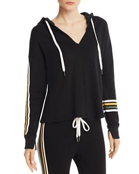n:philanthropy - Winslow Striped Detail Hooded Sweatshirt