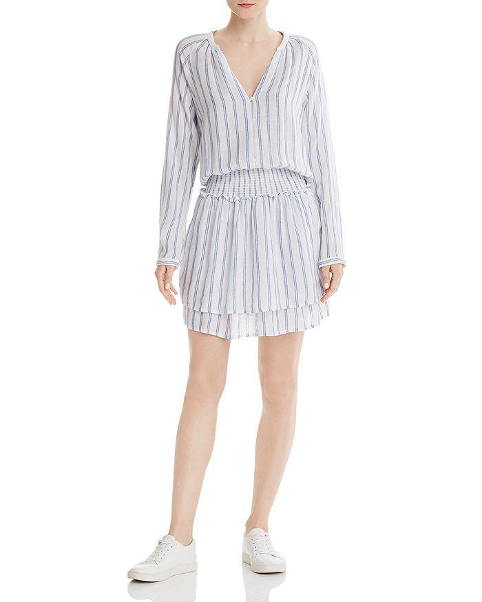 Rails - Jasmine Striped Smocked Dress