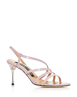 Sergio Rossi - Women's Godiva Steel High-Heel Sandals - 100% Exclusive